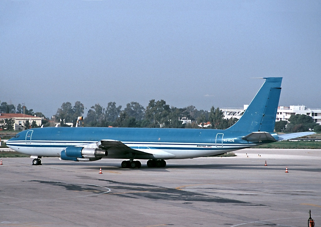 File:Boeing 707-321C, Turkish Airlines Cargo AN0199422.jpg ... |Libyan Airlines Cargo Boeing 707