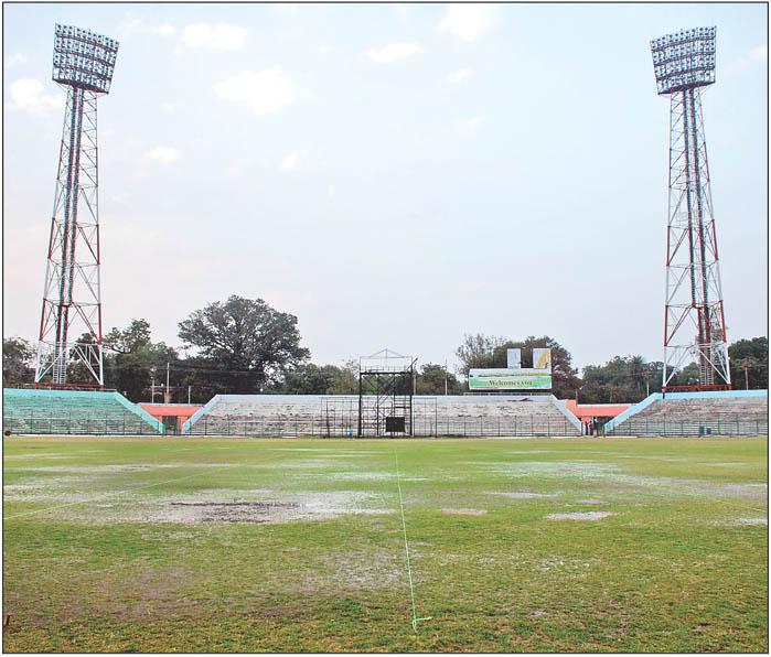 Stadium Lights Capacity: Captain Roop Singh Stadium