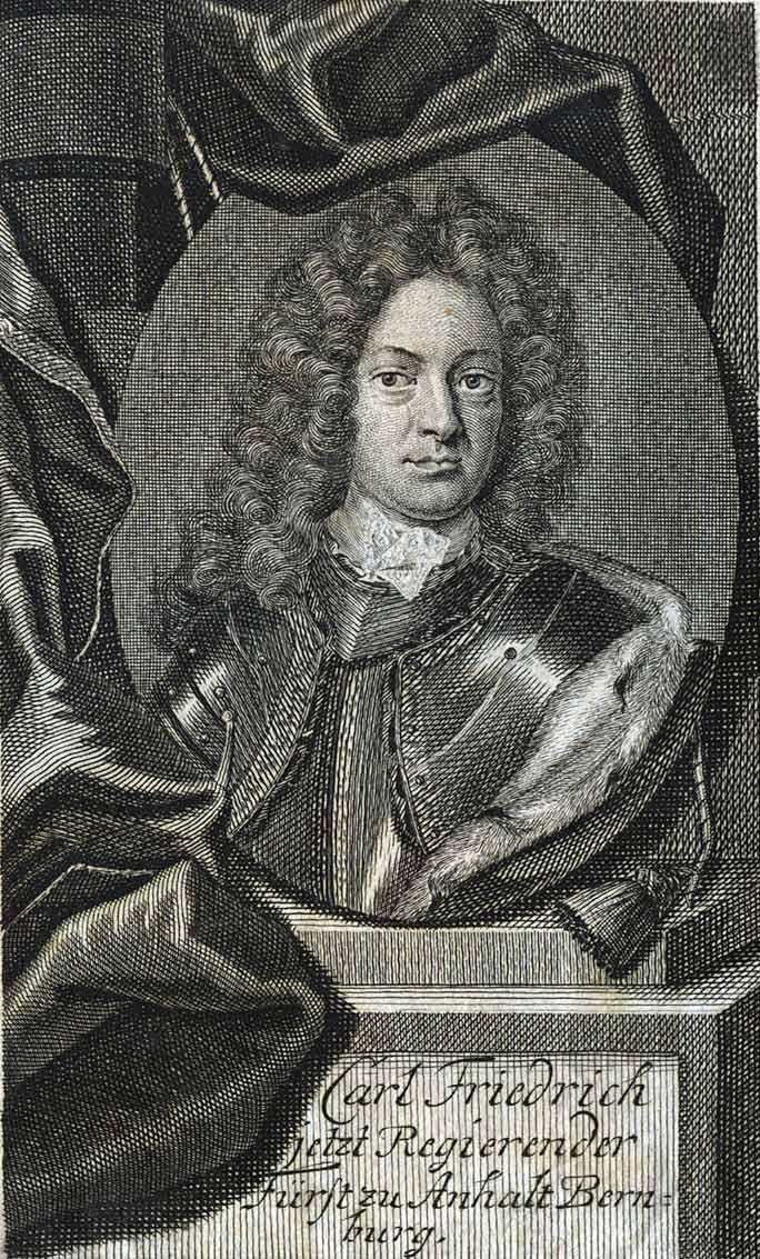 Karl Frederick, Prince Of Anhalt-Bernburg