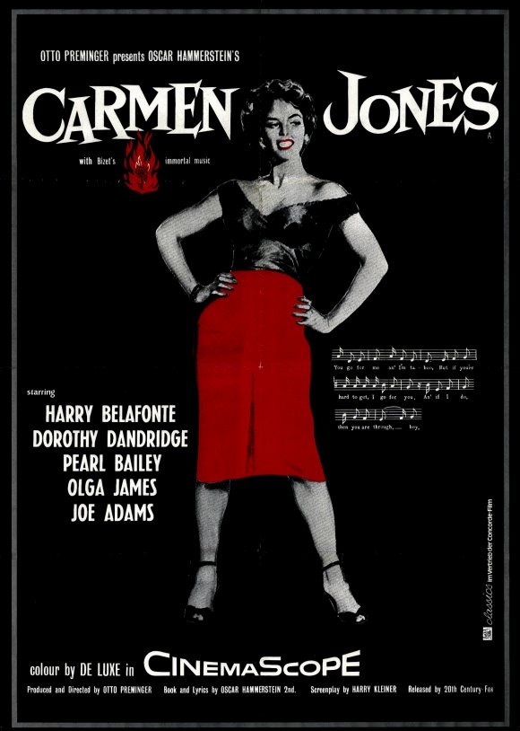 Image result for dorothy dandridge carmen