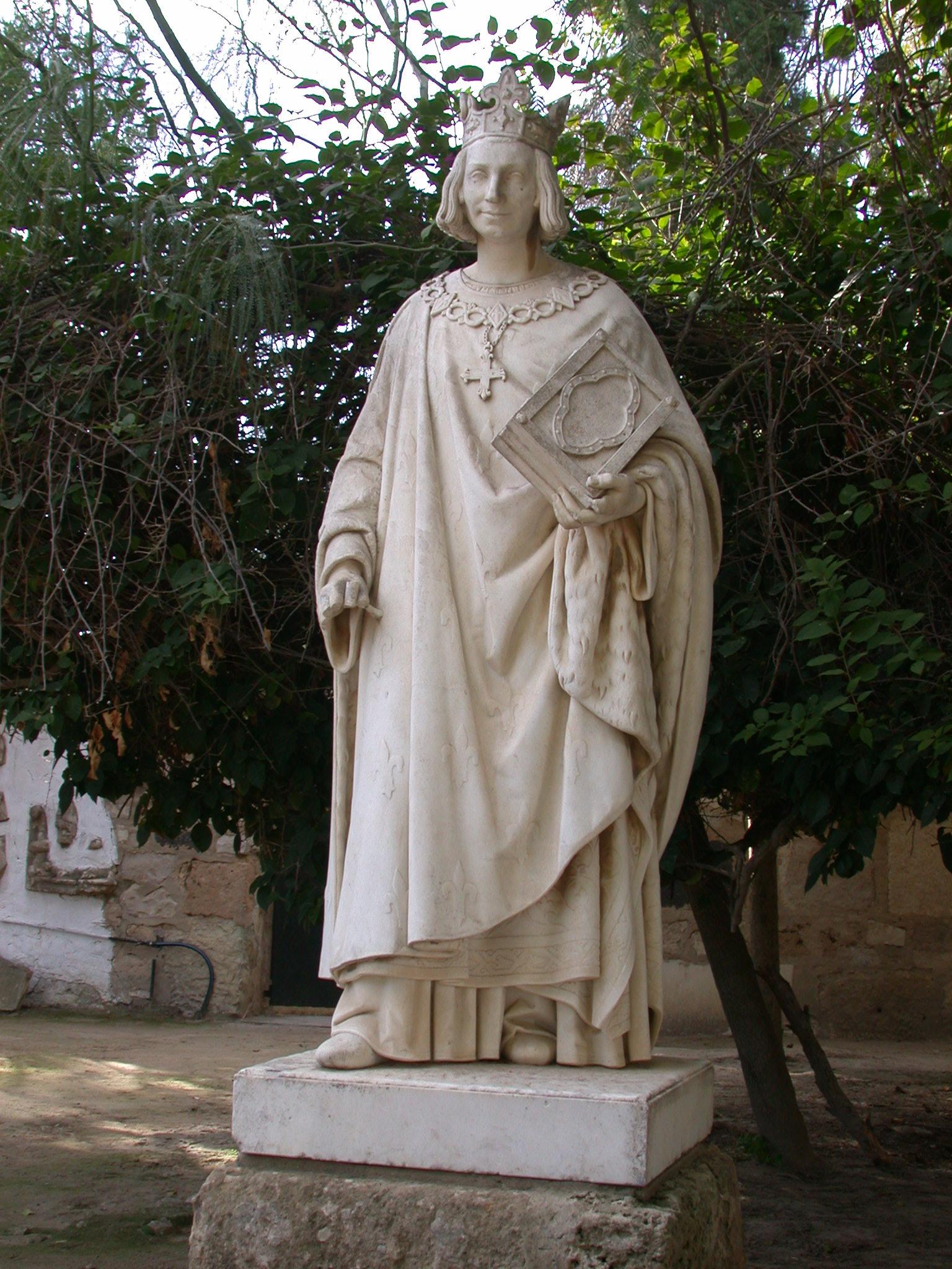 File Carthage Statue De Saint Louis Jpg Wikimedia Commons