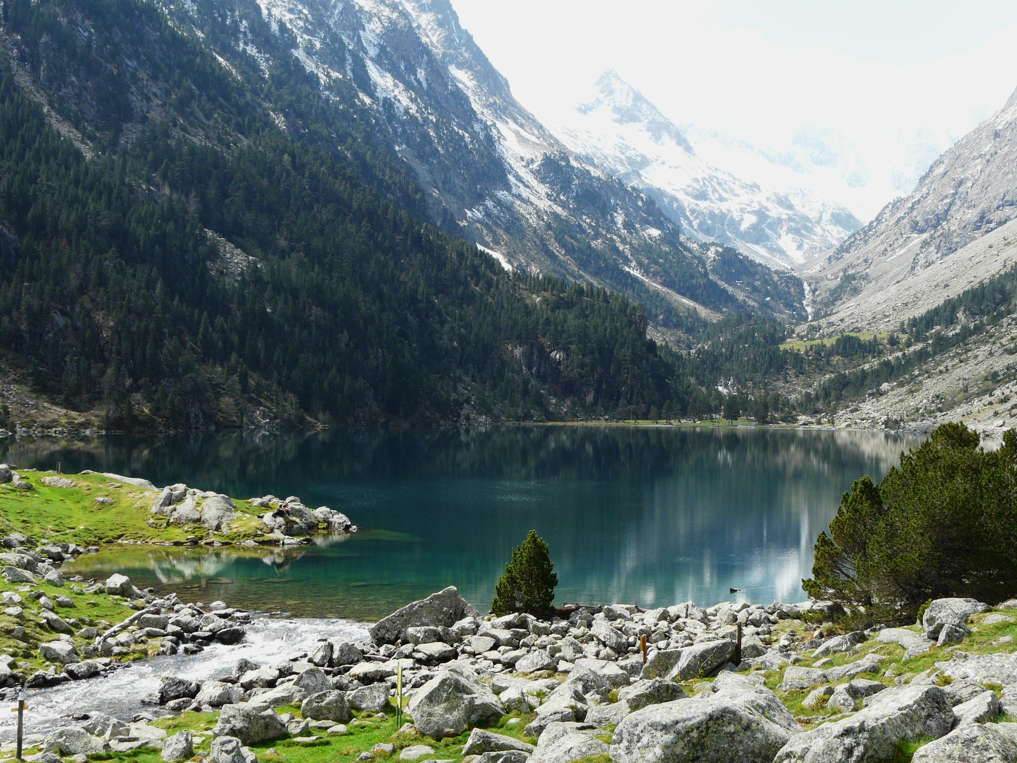 File cauterets lac et gave gaube 1 jpg wikimedia commons - Lac de gaube ...