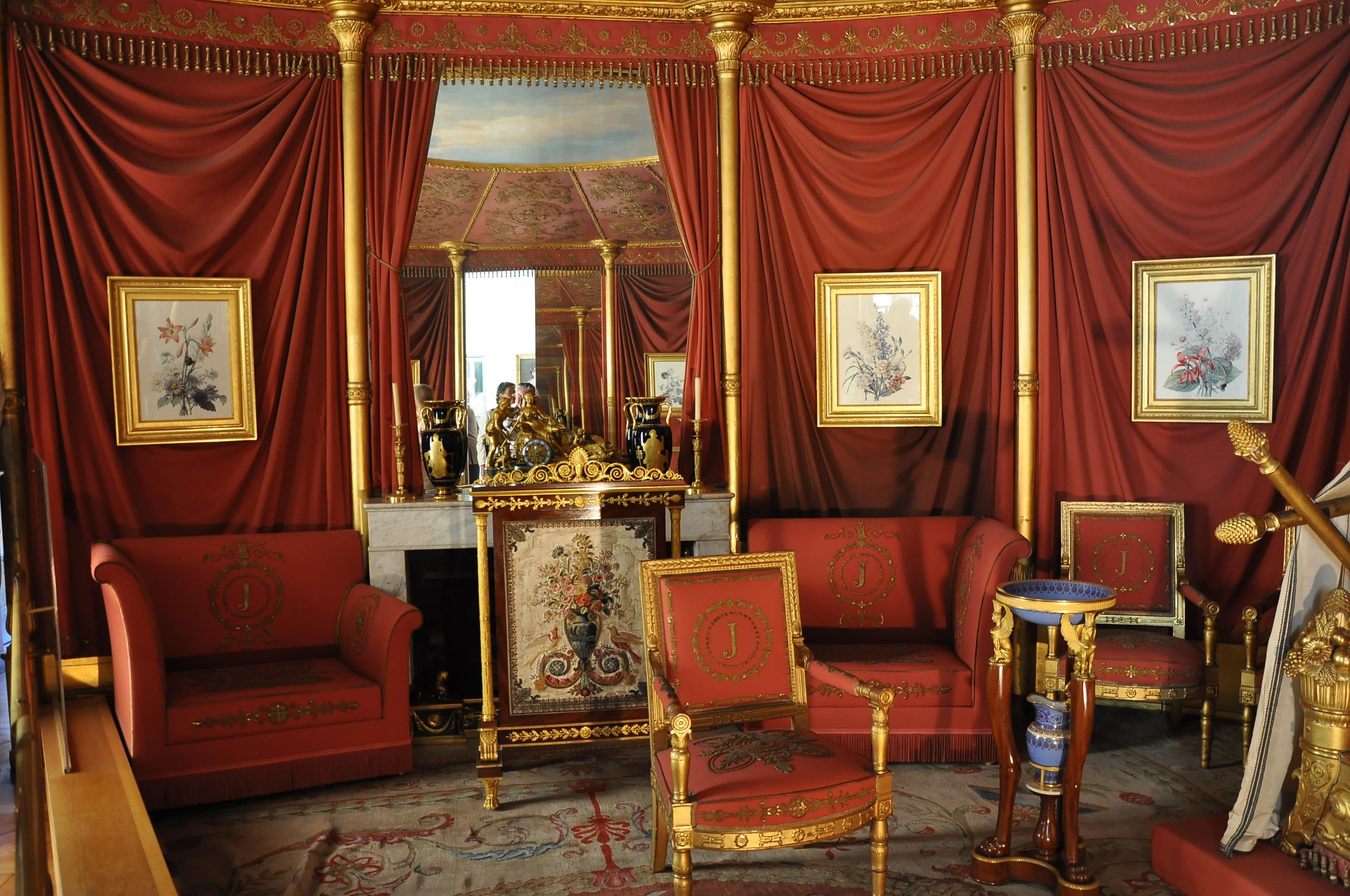 Ornate Bedroom Furniture File Ch 226 Teau De Malmaison Appartement De Jos 233 Phine 002