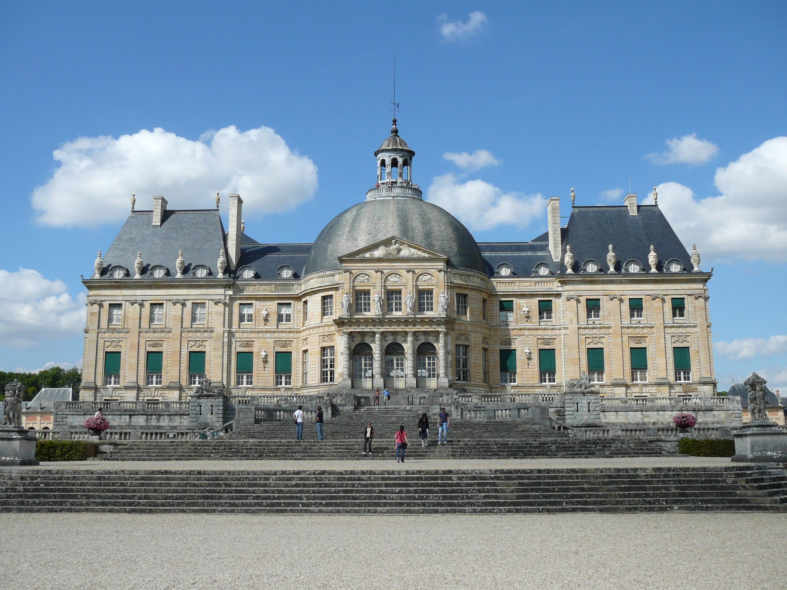 Достопримечательности вокруг Парижа - Замок Vaux le Vicomte