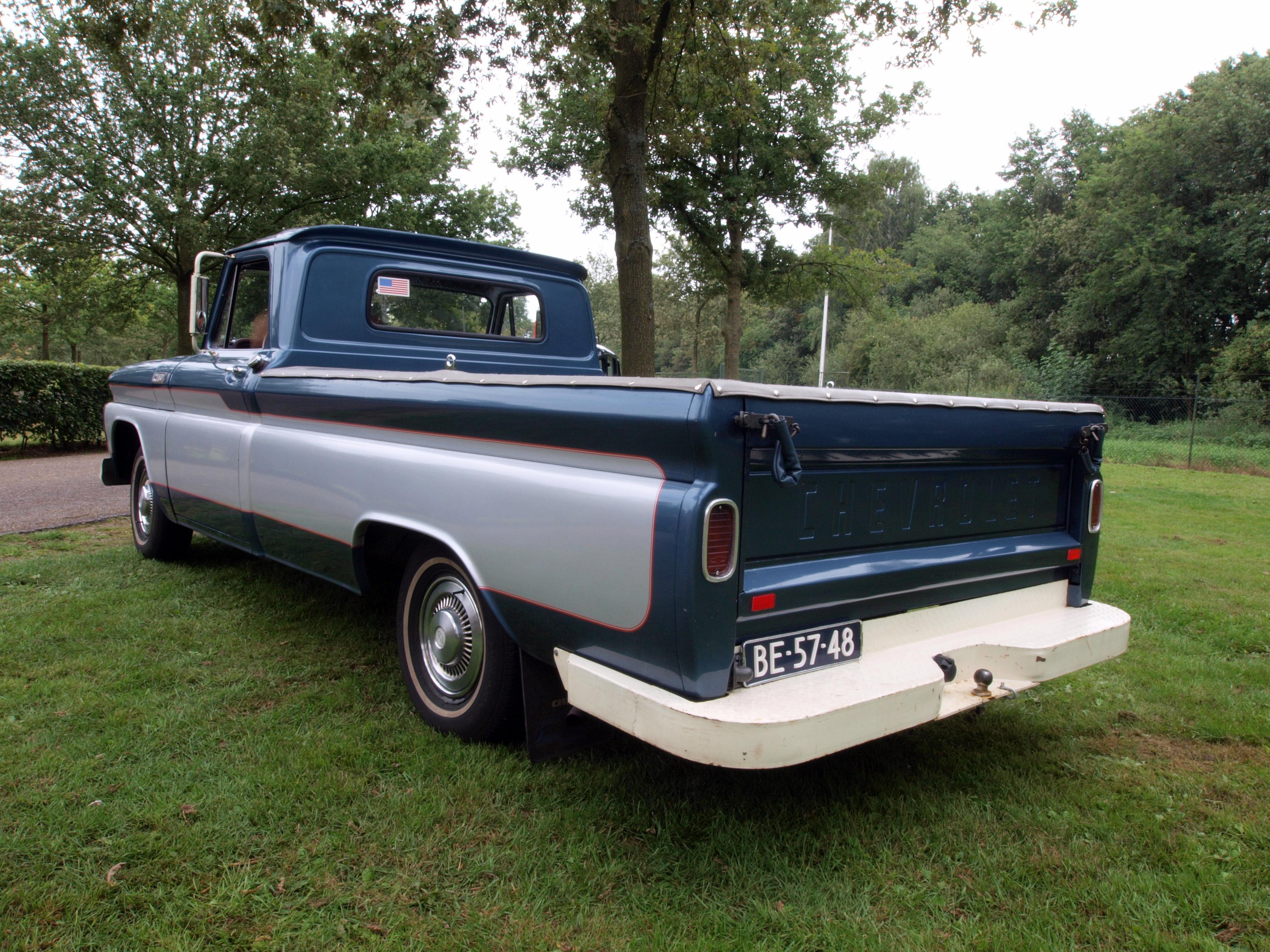 File Chevrolet Pk 1965 Dutch Licence Registration Be 57