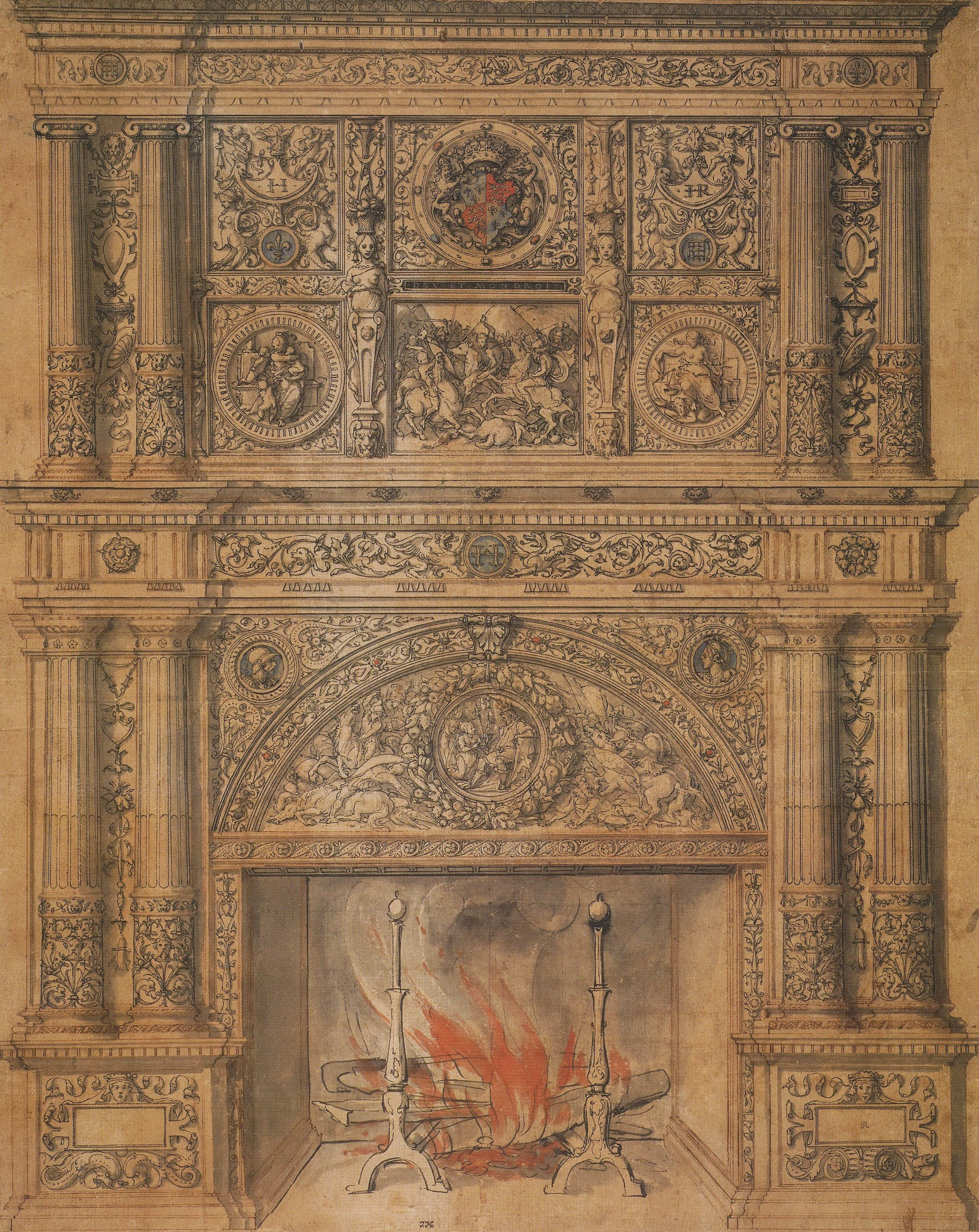 File Chimney Piece Design By Hans Holbein The Younger Jpg
