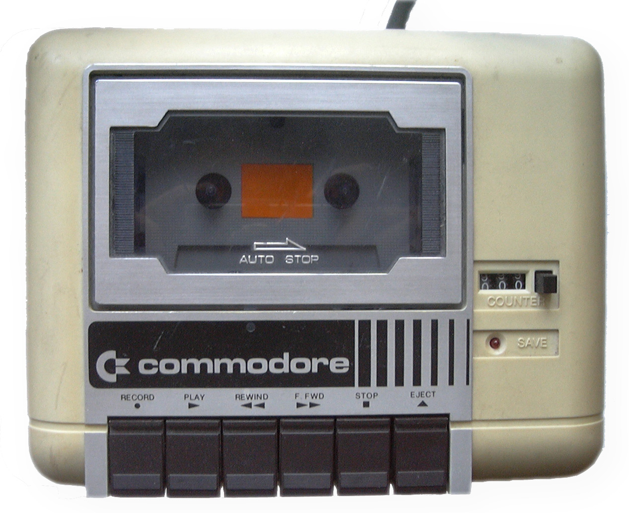 Commodore Datassette tape drive