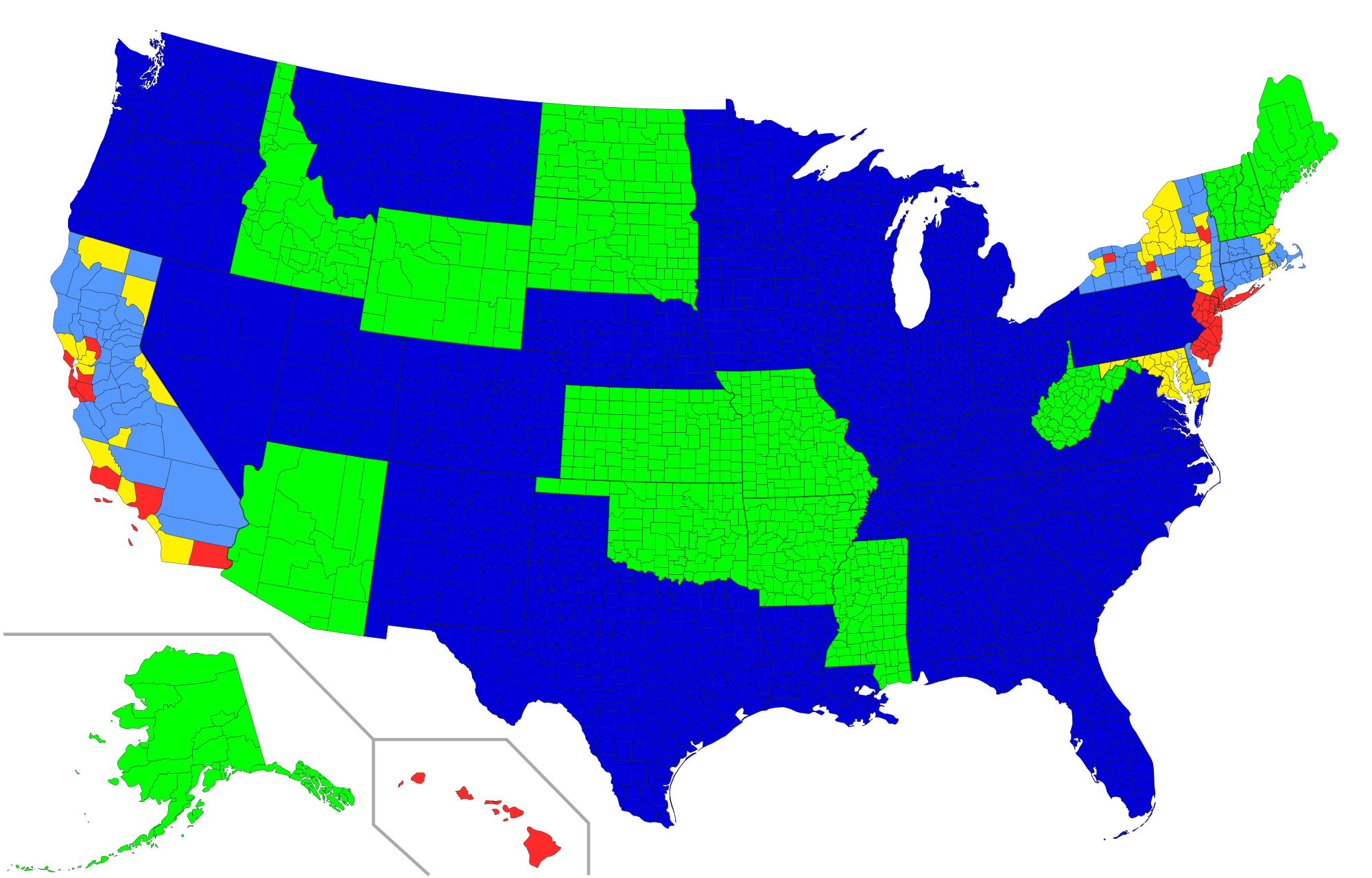 File Concealed Carry Across Usa By County Png Wikimedia Commons