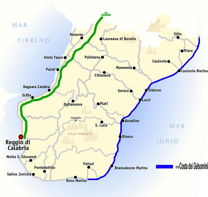 Calabria Costa Tirrenica Cartina.Locride Calabria Wikipedia