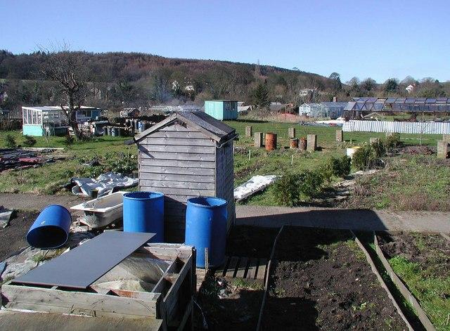 Cottingley Bridge Allotment Garden - geograph.org.uk - 375062