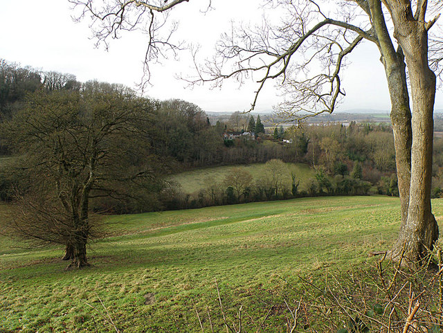 Countryside near Howle Hill - geograph.org.uk - 1128771