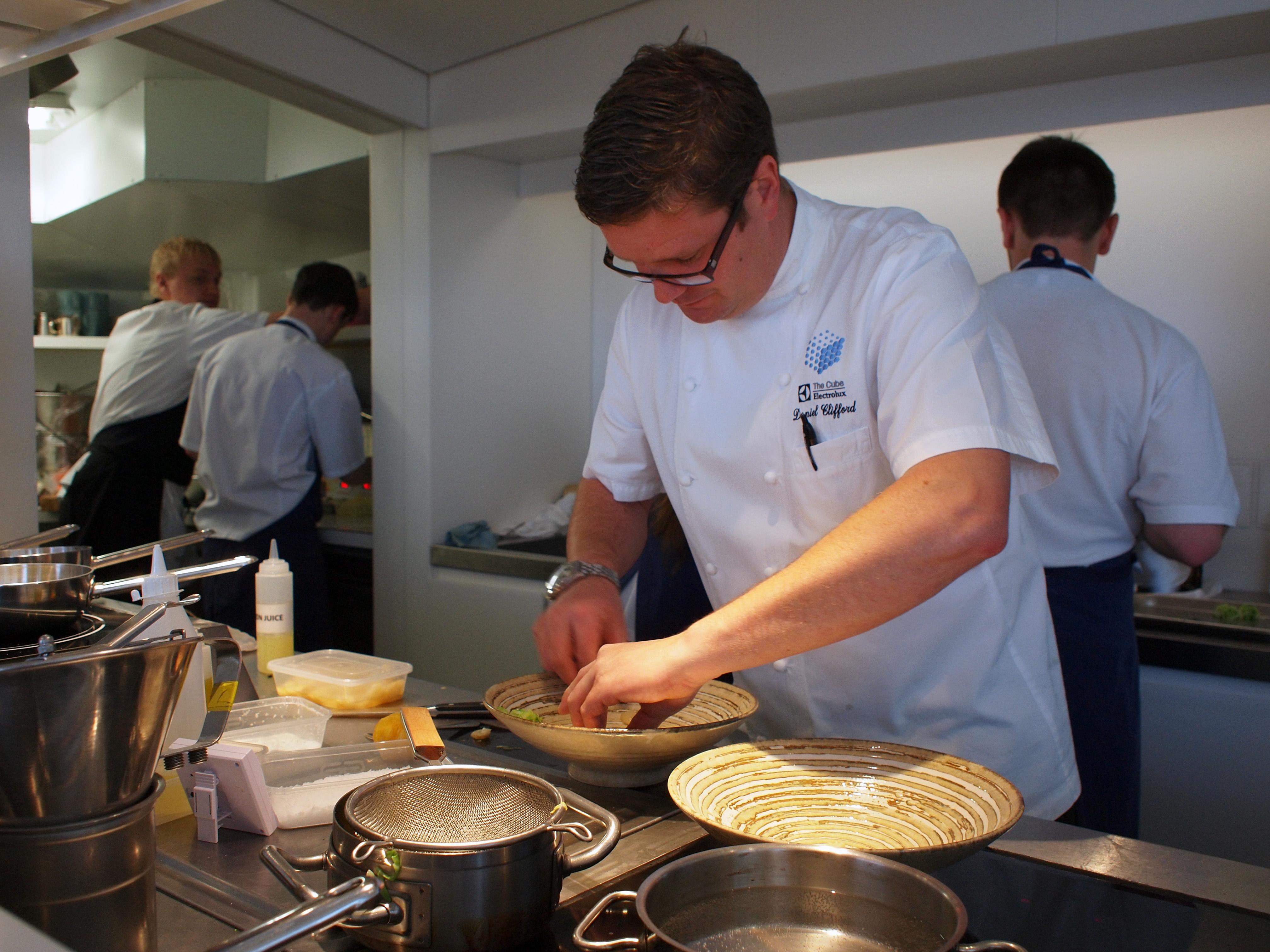 Midsummer House Restaurant Cambridge daniel clifford (chef) - wikipedia