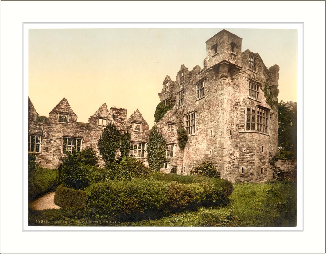 Donegal Ireland  city pictures gallery : Description Donegal Castle. Co. Donegal Ireland