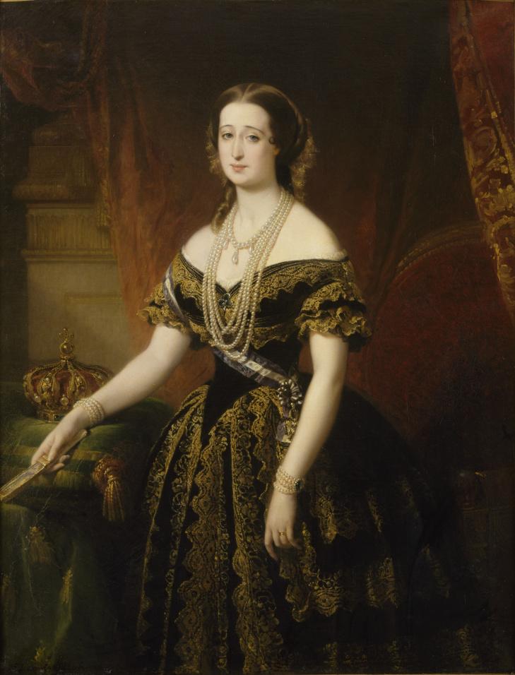 Empress Eugenie 1854