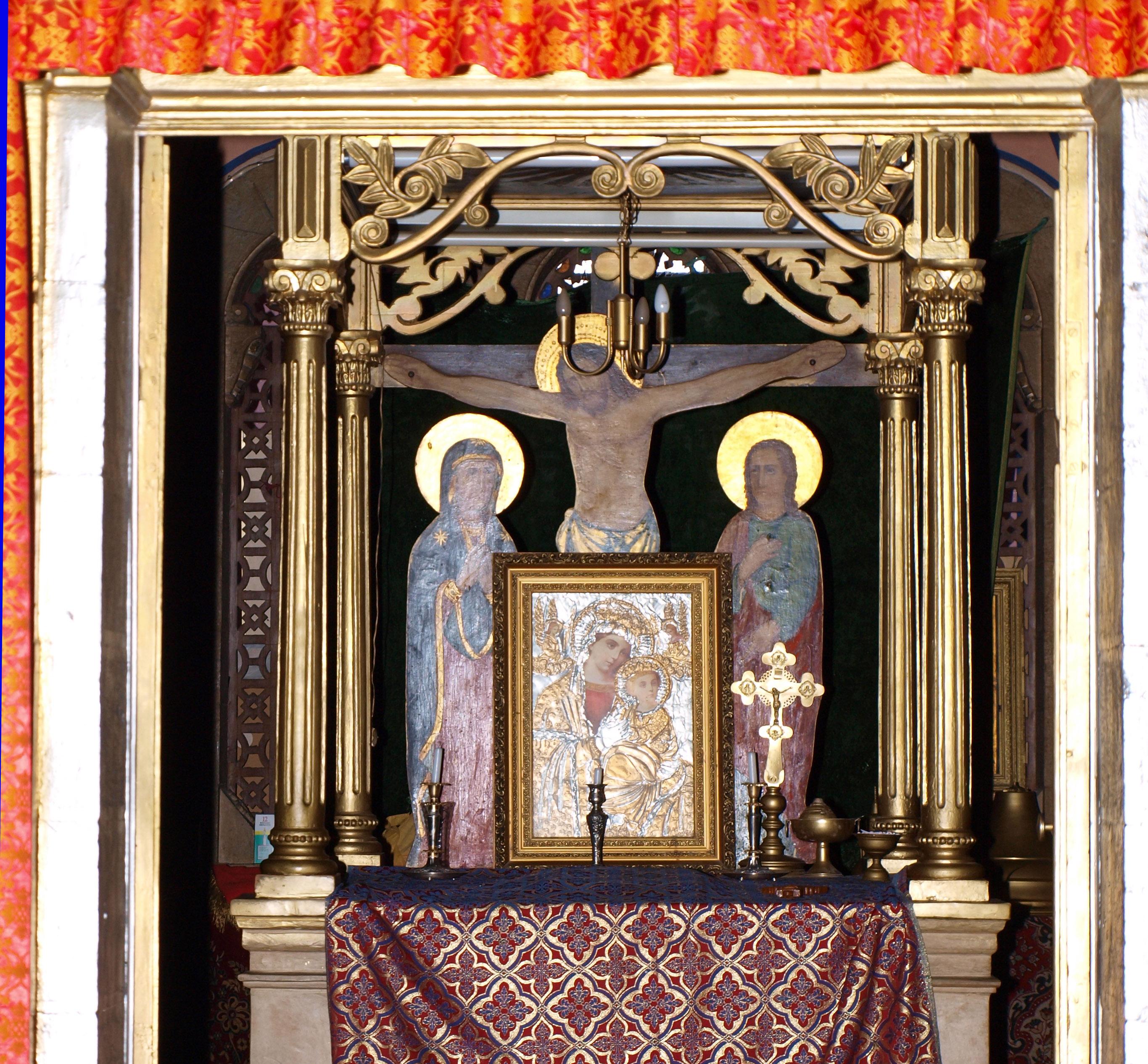 File:Ethiopian Abyssinian Church, Jerusalem 08.jpg ...