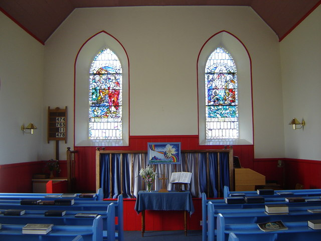 File:Fair Isle Methodist Church interior - geograph.org.uk ...