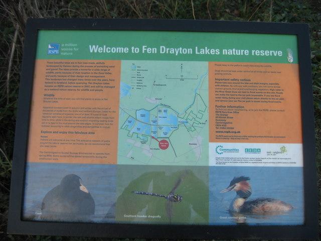 Fen Drayton Lakes nature reserve - geograph.org.uk - 1235578