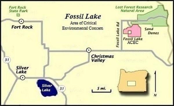 File Fossil Lake Map Lake County Oregon Jpg Wikimedia Commons