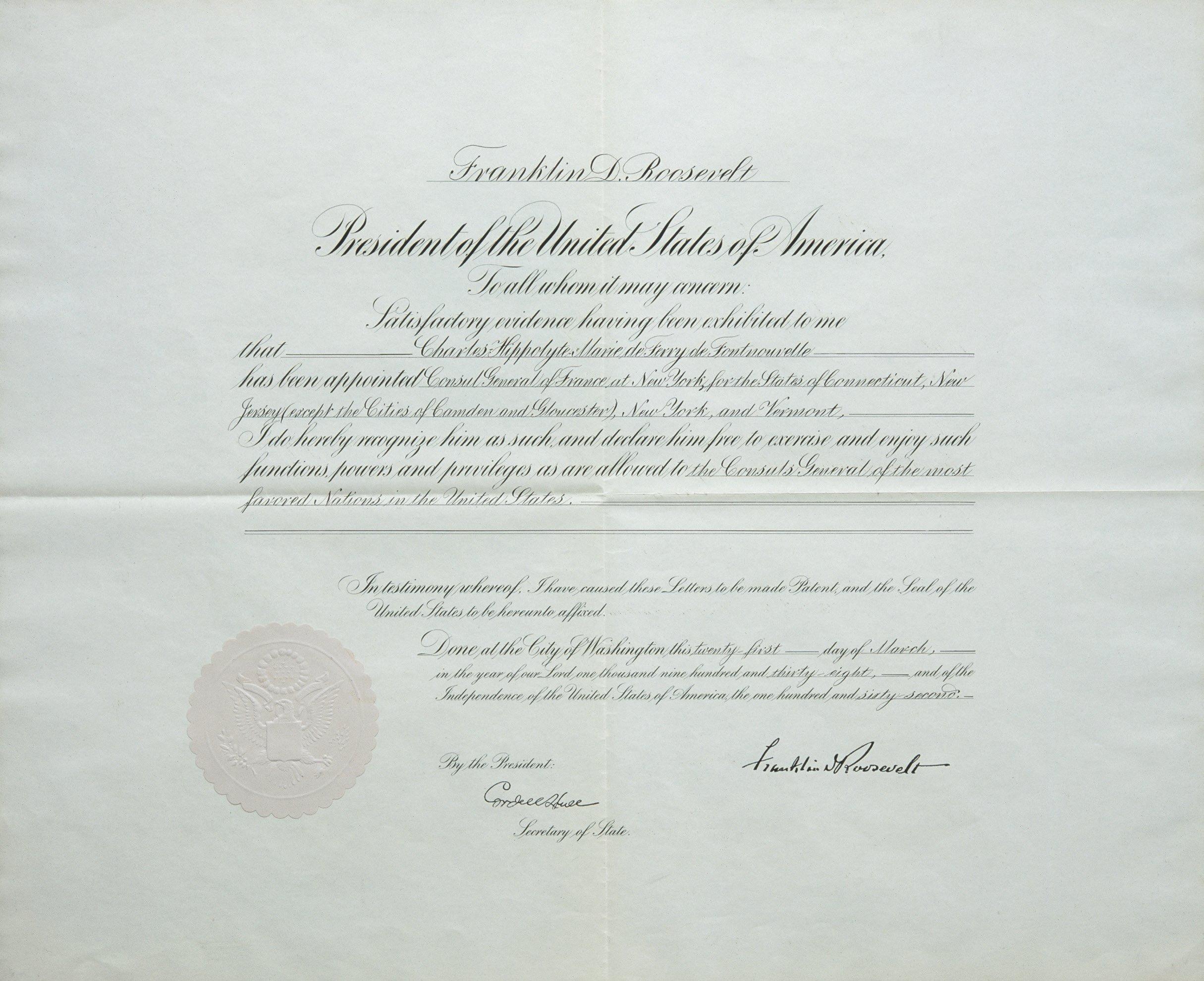 Requisitos para la solicitud del decreto de exequátur República ...