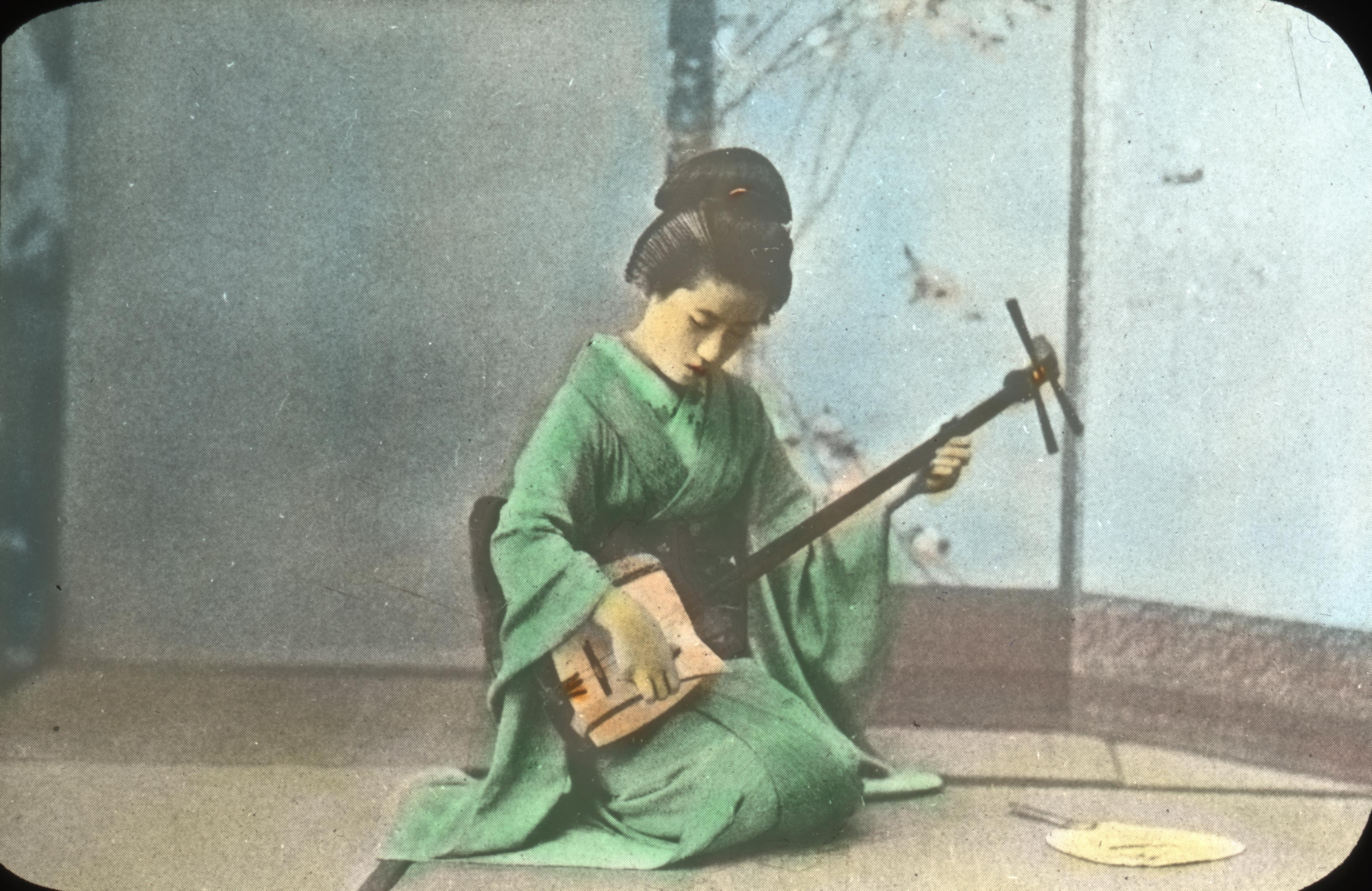 File Geisha Girl Playing The Samisen 4787676913 Jpg