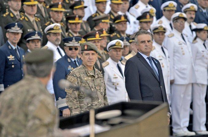 General Juan Martín Paleo y Agustín Rossi