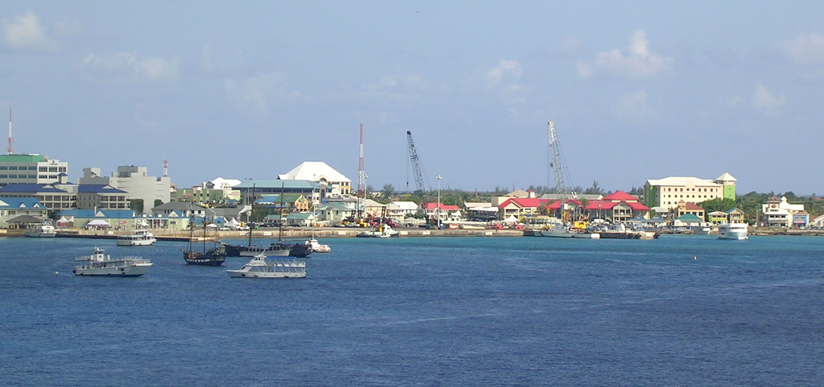 Bus Routes Traveling Through George Town Cayman Islands
