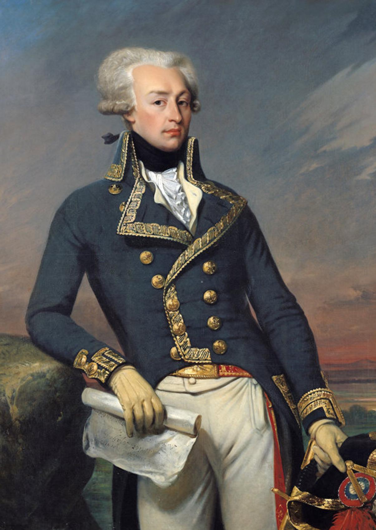 Joseph-Désiré Court:  Marie-Joseph Paul Yves Gilbert du Motier, marquis de La Fayette