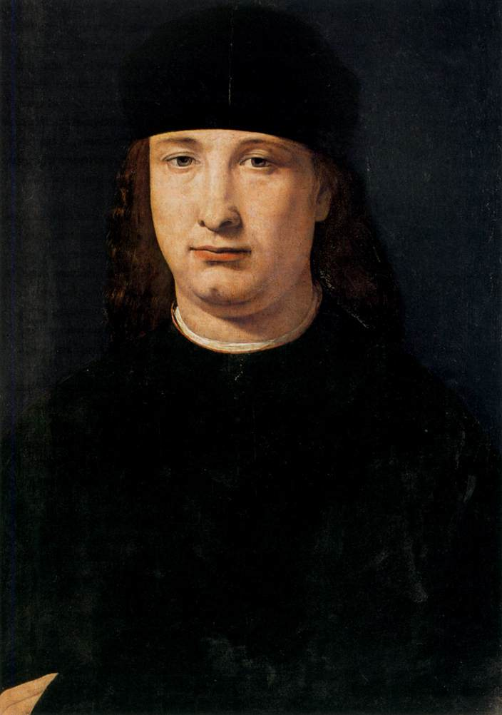 File:Giovanni Antonio Boltraffio - Portrait of a Notable ...