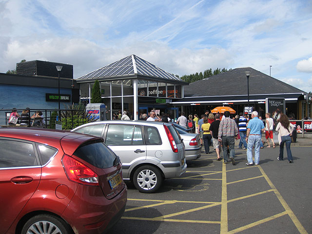 File:Gordano Service area - geograph.org.uk - 1464467.jpg