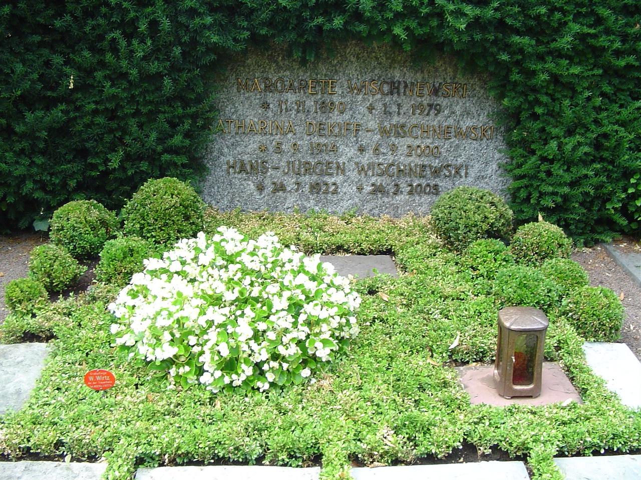 Grab von Hans-Jürgen Wischnewski
