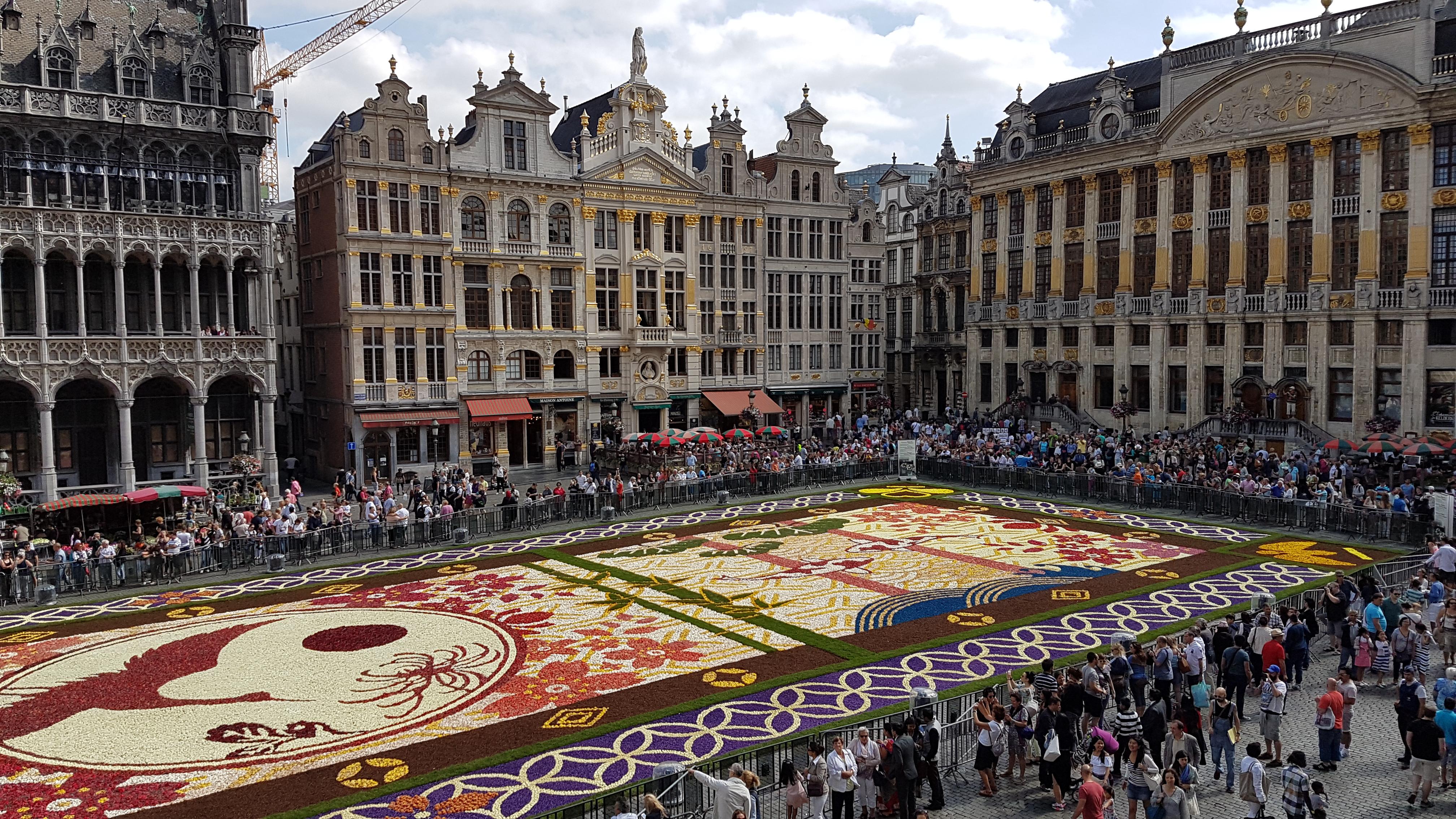File Grand Place De Bruxelles Tapis De Fleur 3 Jpg Wikimedia Commons