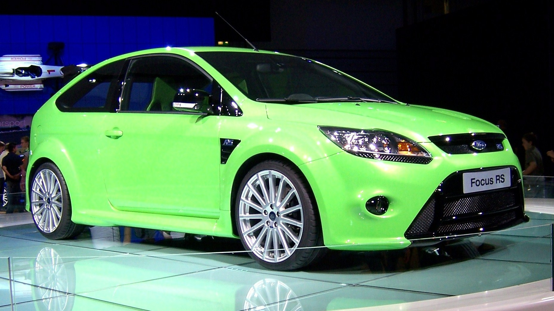 file green ford focus rs bims08 2 jpg wikimedia commons. Black Bedroom Furniture Sets. Home Design Ideas