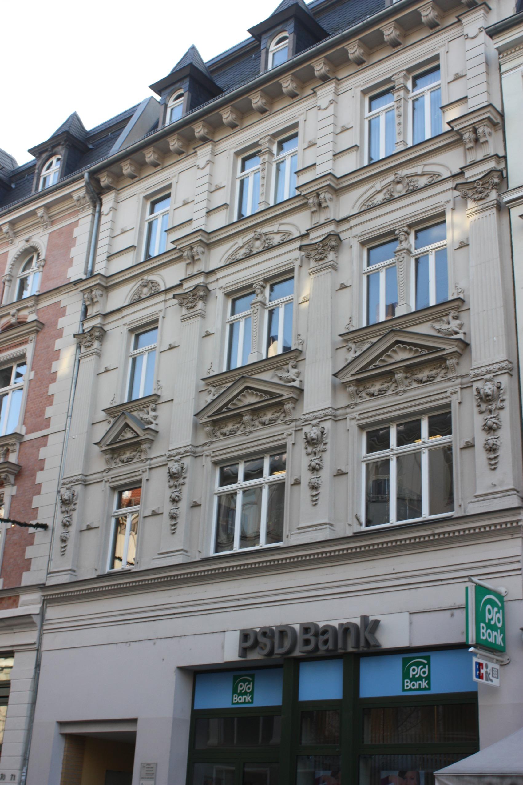 Datei Halle Saale das Haus Leipziger Straße 71 JPG