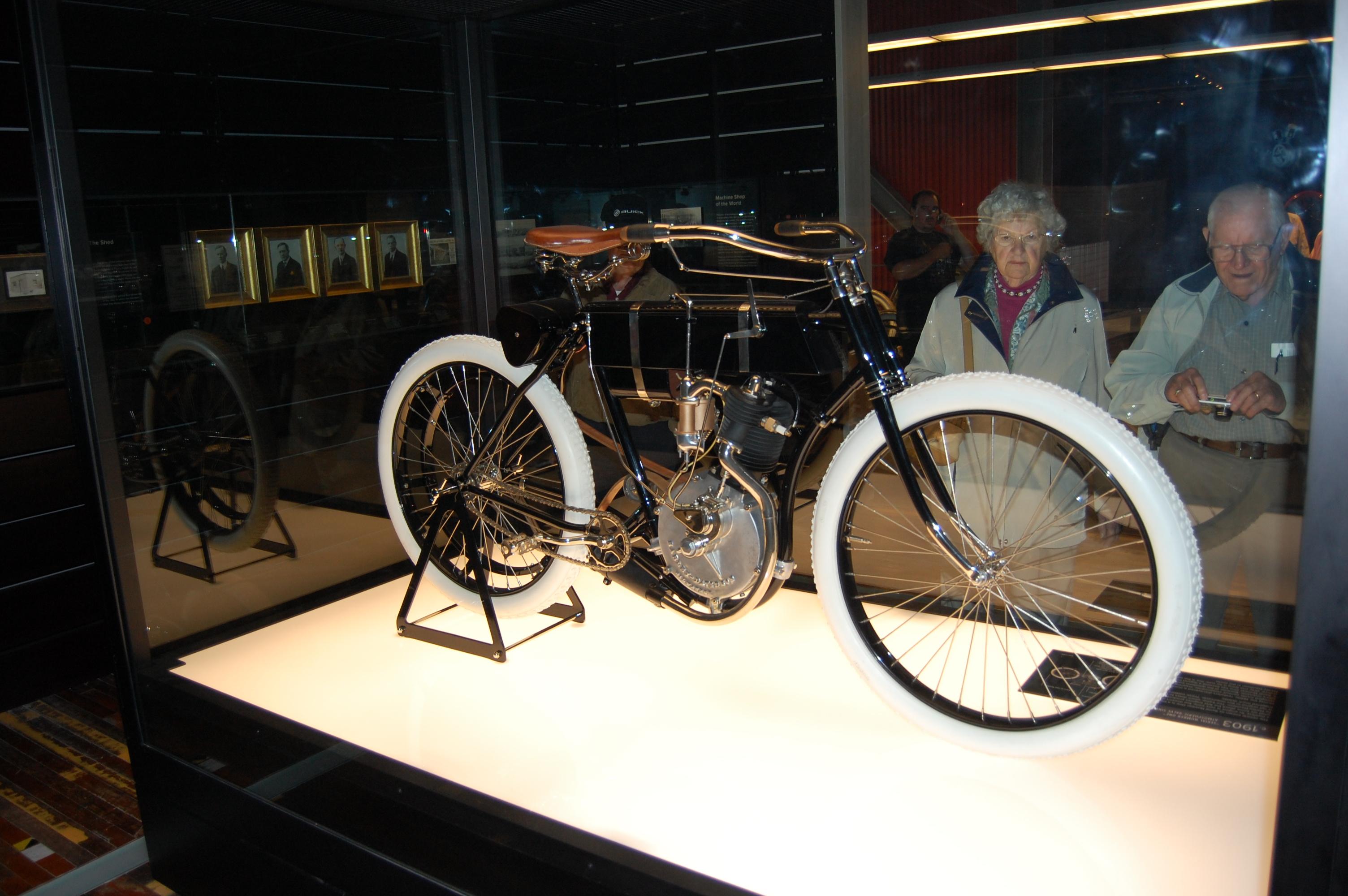 File:Harley-Davidson Museum Serial Number One.JPG - Wikimedia Commons