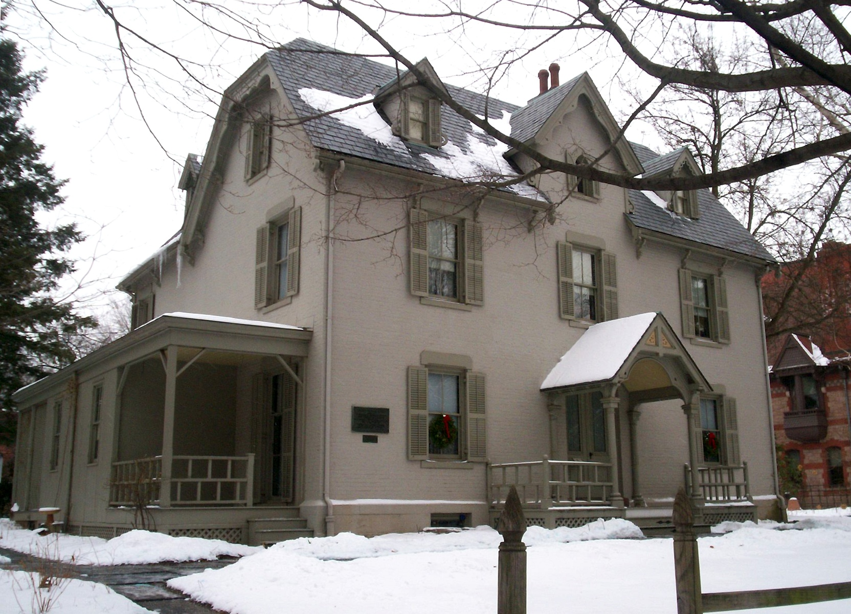 Harriet beecher stowe house hartford connecticut wikiwand for The hartford house