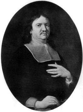 Depiction of Henry Oldenburg