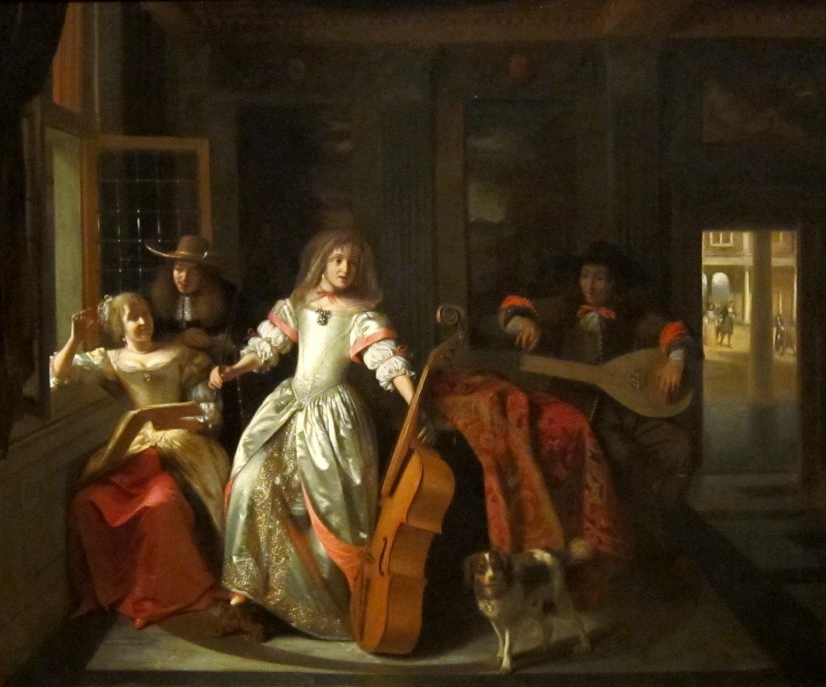 File:Hooch, Pieter de - A Musical Conversation, 1674.jpg