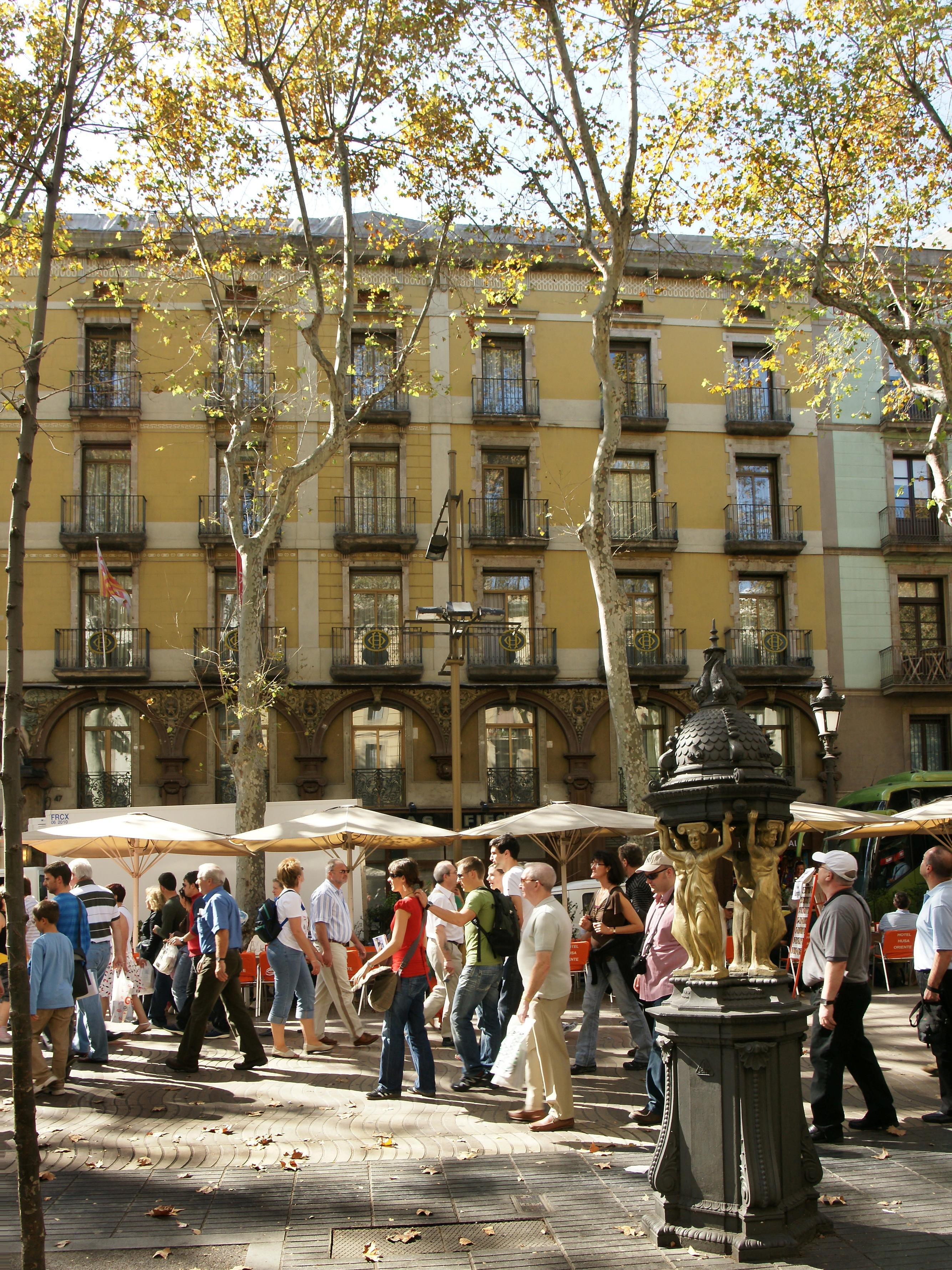 Hotel Las Ramblas Barcelone