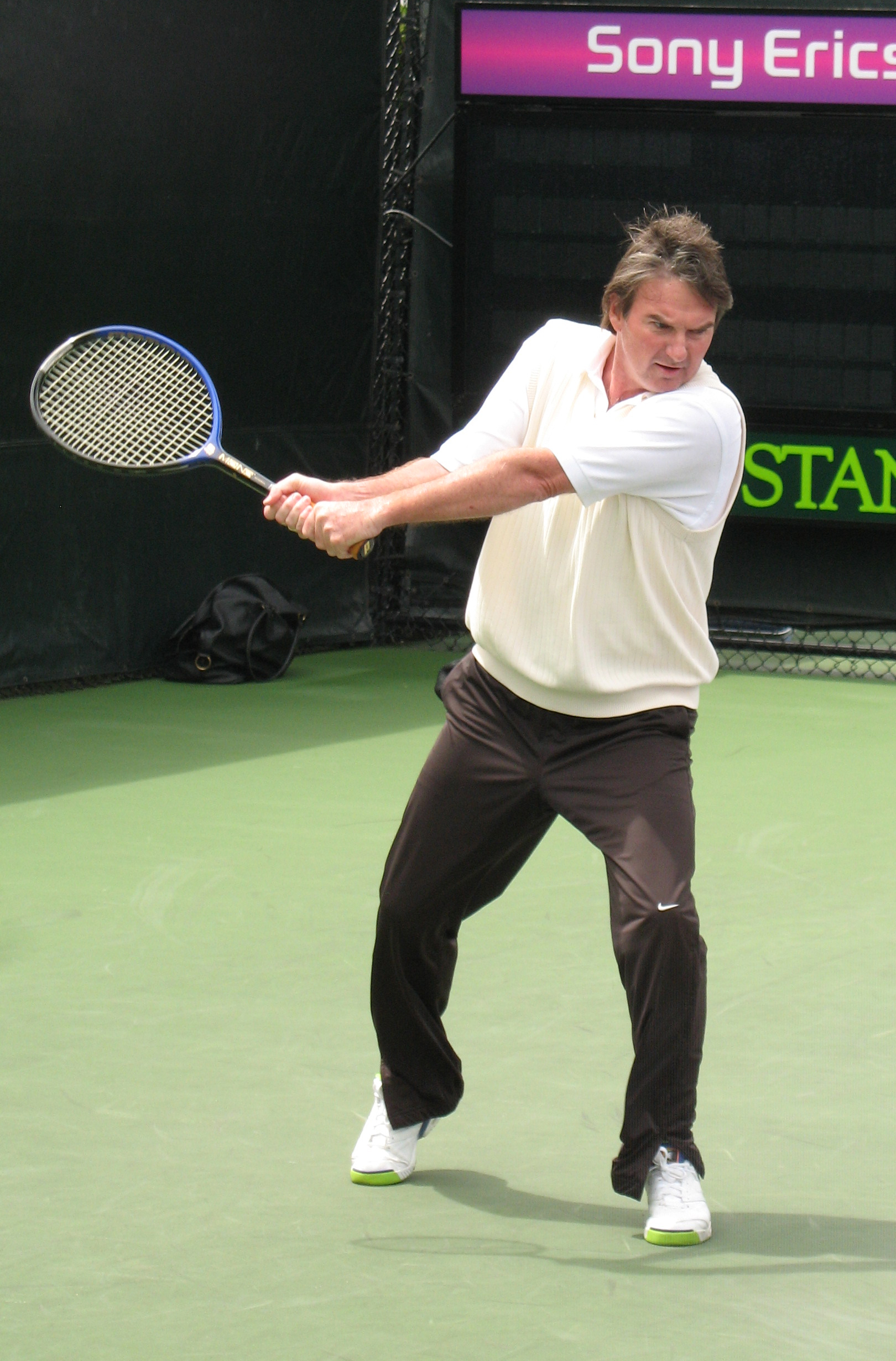 Depiction of Jimmy Connors