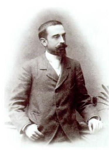 Retratado en la década de 1880