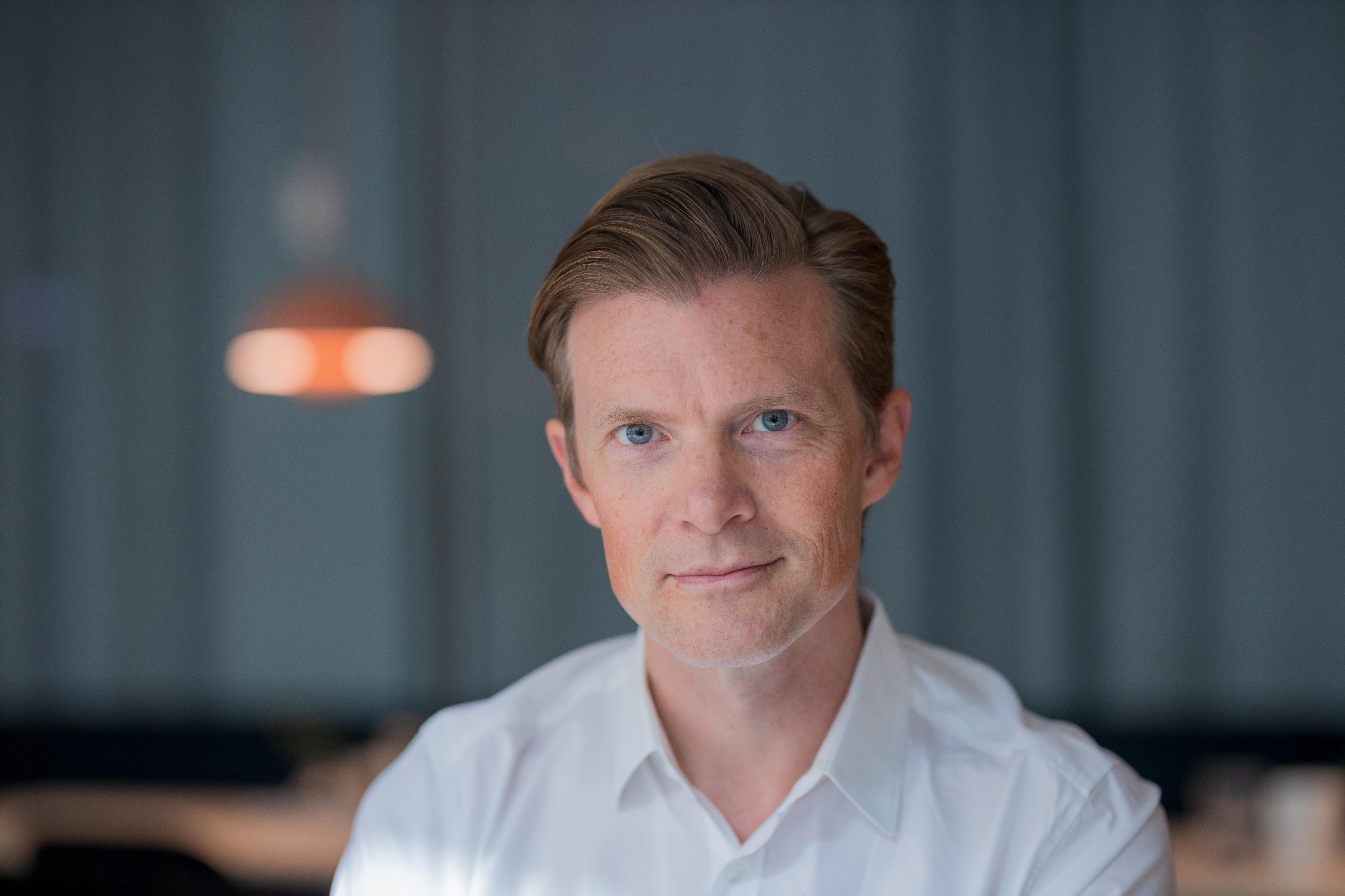 Johan Norberg at [[Svenska Dagbladet]], in [[Stockholm]], [[Sweden]], August 2019