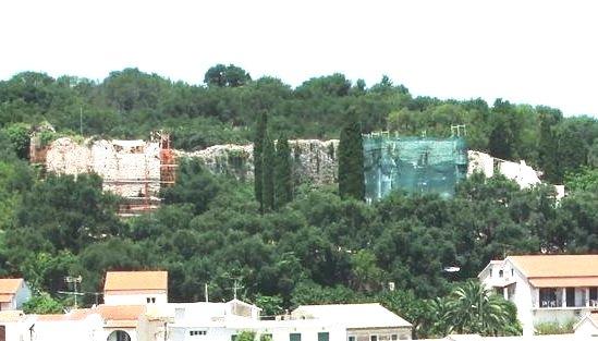 Kassiopi Castle renovations.JPG