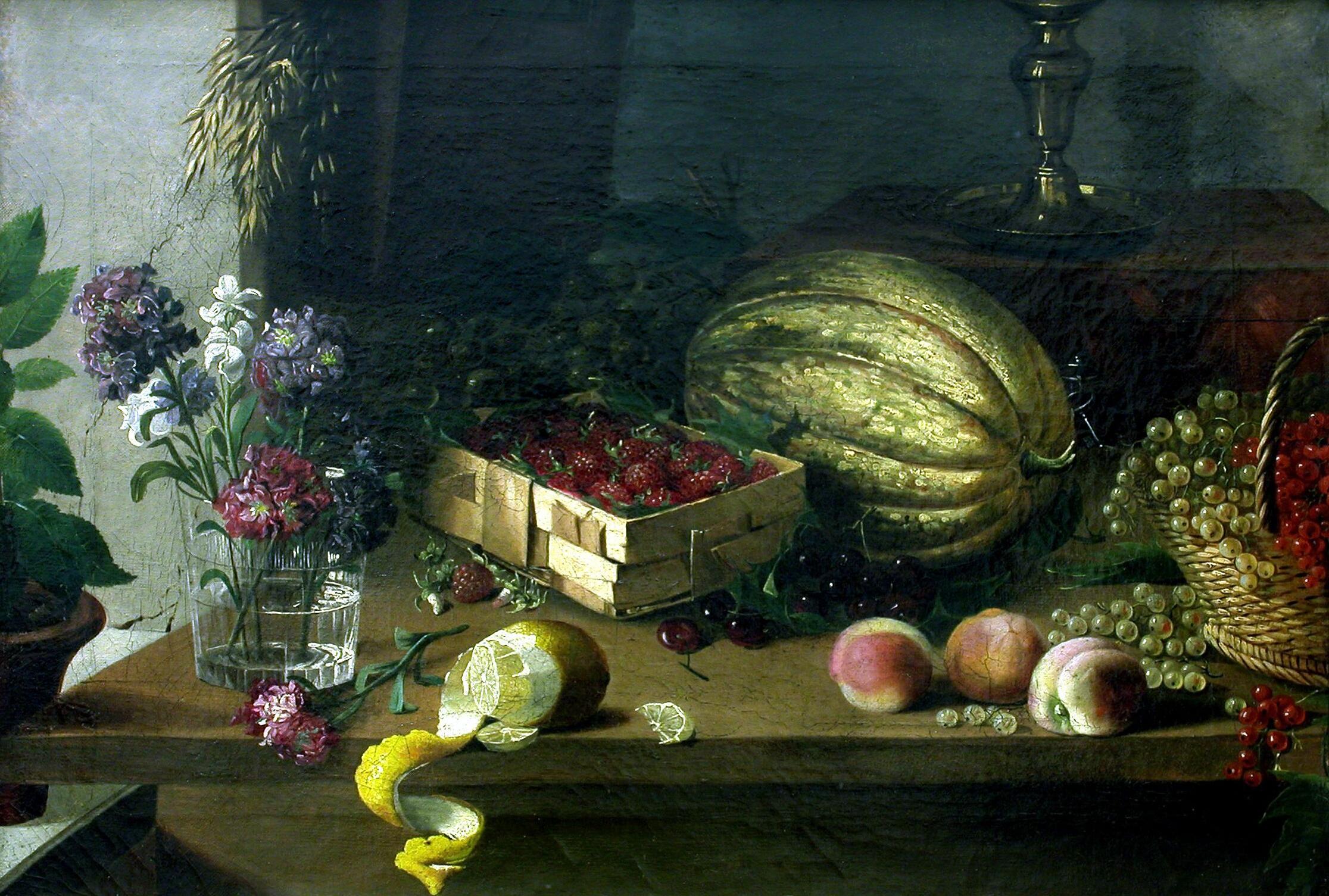 Картина хруцкого цветы и плоды ...: pictures11.ru/kartina-hruckogo-cvety-i-plody.html