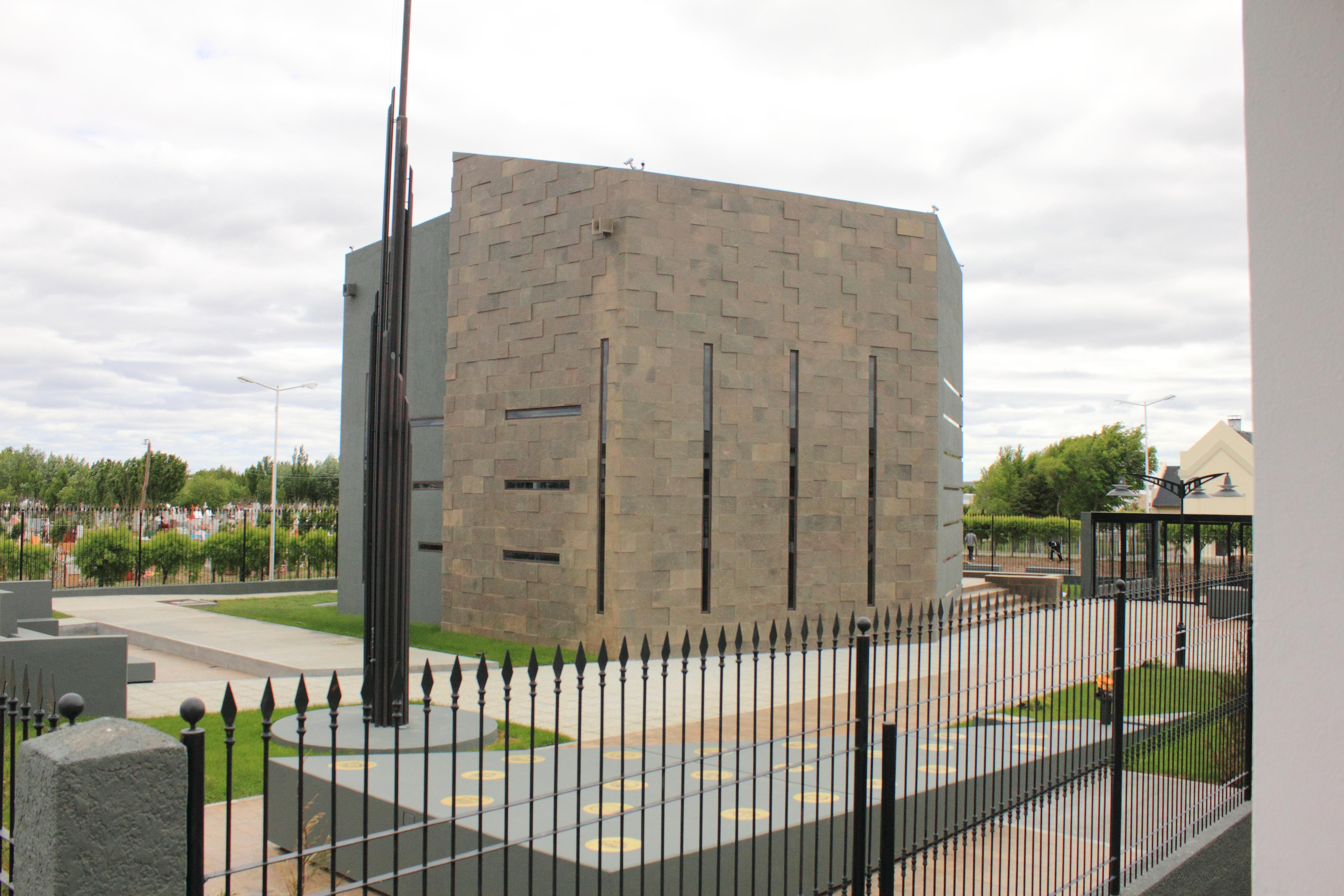 Mausoleum of n stor kirchner for Built by nester