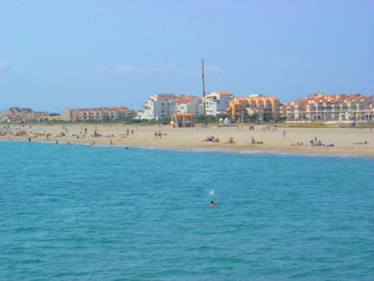 file la plage de port leucate jpg wikimedia commons