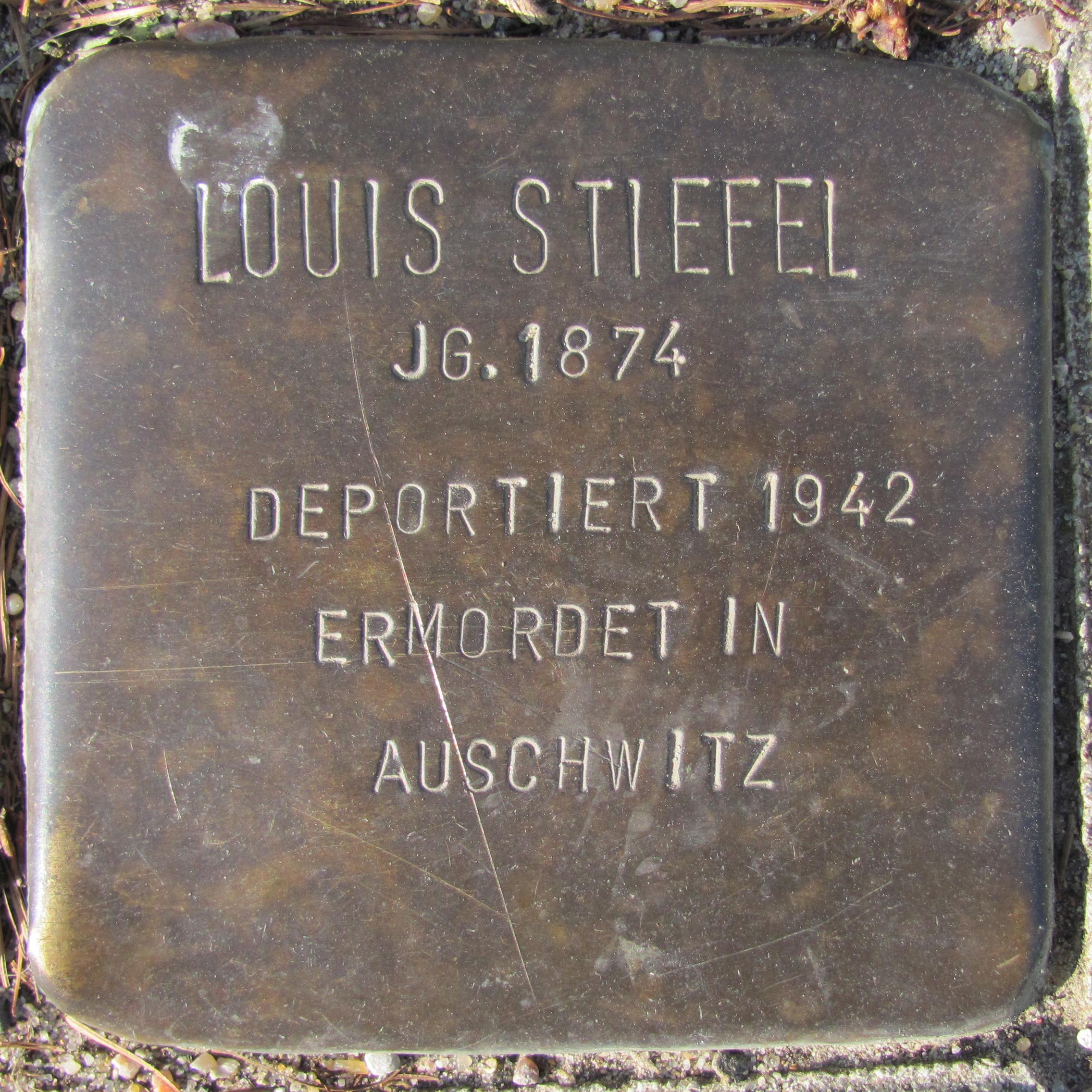 Datei:Louis Stiefel Kurzer Kamp 6 (Hamburg Fuhlsbüttel