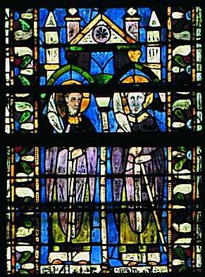 Master of San Francesco, profeter och helgon, St Rufino och St. Vittorino.jpg