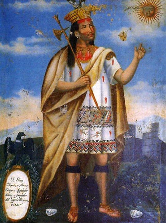 ผลการค้นหารูปภาพสำหรับ inca first king