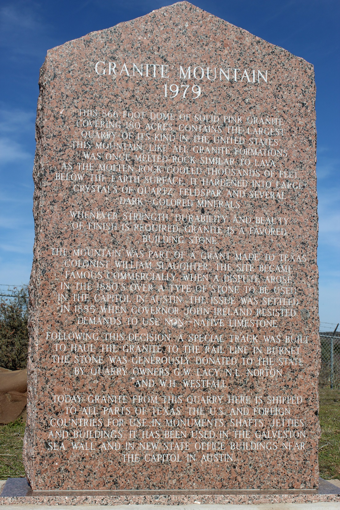 Granite Mountain Texas Wikipedia