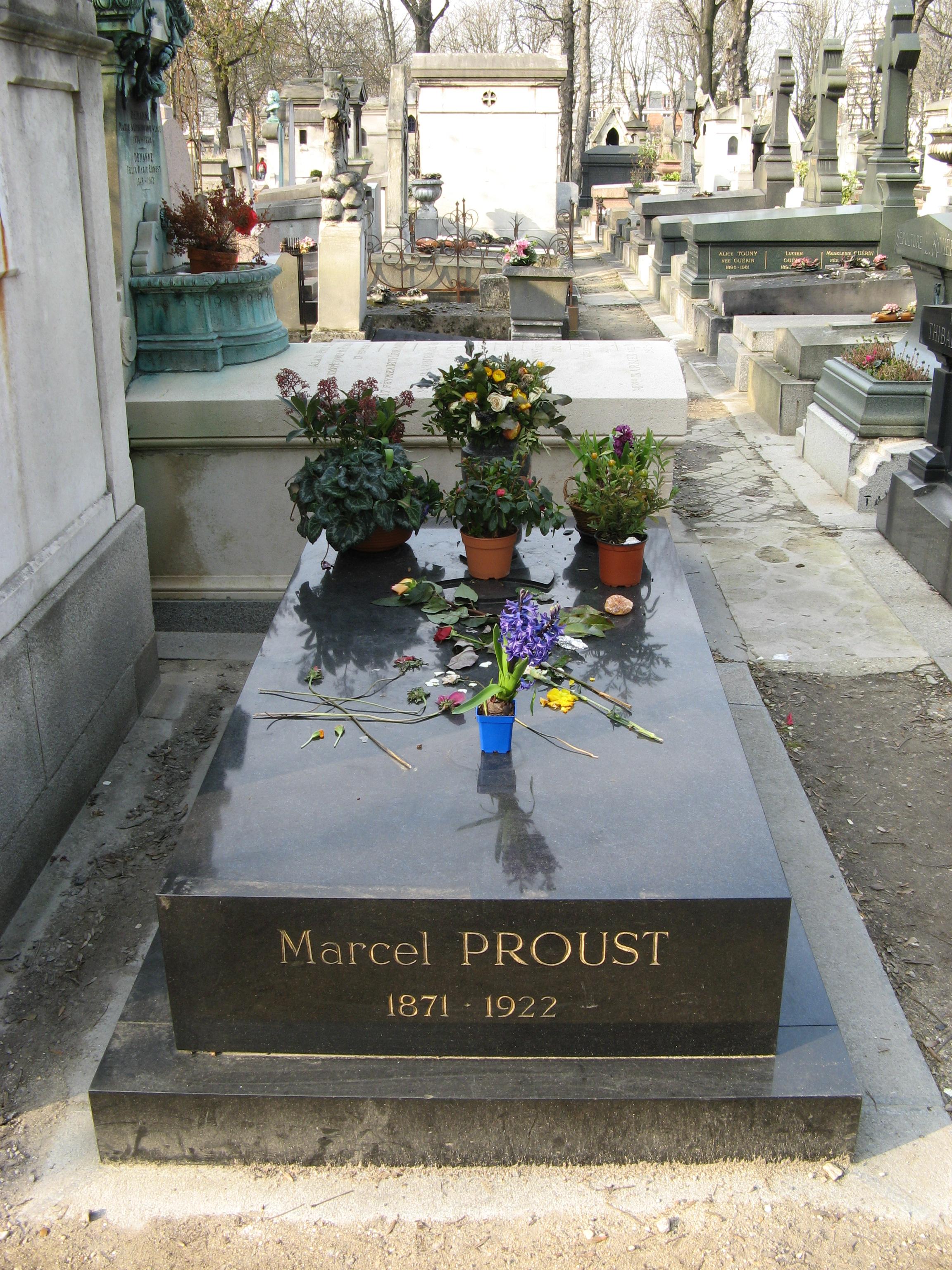 Grab von Marcel Proust